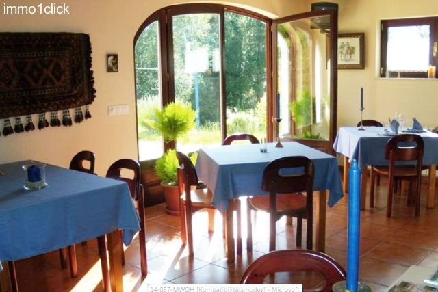 the Dining room of the equestrian property in Northspain, Asturias, Boal for sale